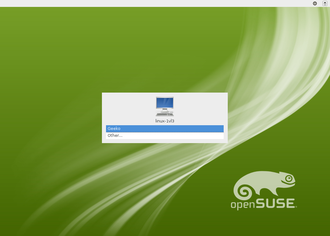 OpenSUSE 12.1 Xfce Login Manager.png